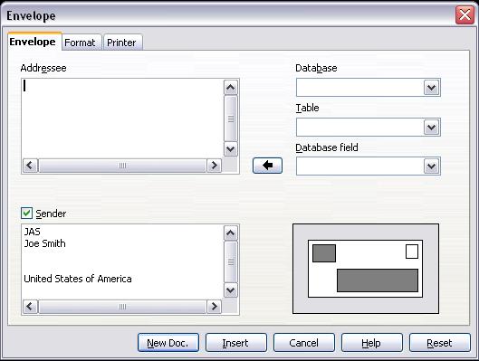 Printing envelopes apache openoffice wiki envelope dialog box accmission Images