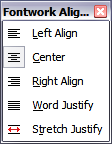 Extended Alignment toolbar