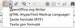 Couper copier et coller du texte apache openoffice wiki - Presse papier open office ...