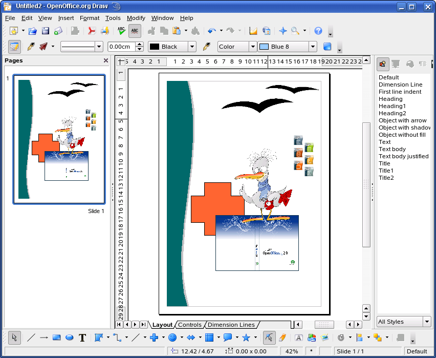 openoffice draw 3.0. From OpenOffice.org Wiki