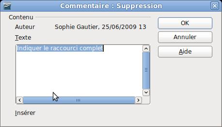 Suivi Des Modifications Dans Un Document Apache Openoffice Wiki
