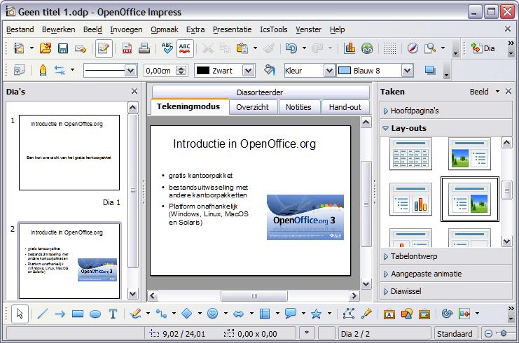 bestand opslaan als pdf openoffice
