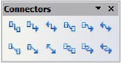 Figure 8: The Connectors toolbar