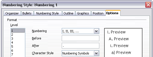 Working with list (numbering) styles - Apache OpenOffice Wiki