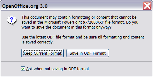 Opening and saving a PowerPoint file - Apache OpenOffice Wiki