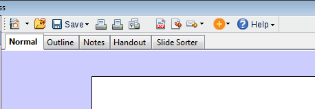 Martinu - File menu group as a toolbar.png