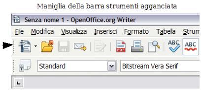 Componenti della finestra principale apache openoffice wiki for Disegno una finestra testo