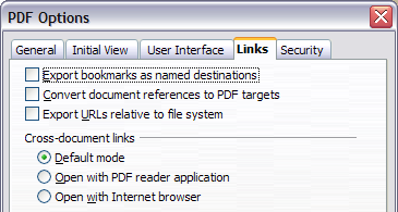 Exporting to PDF - Apache OpenOffice Wiki