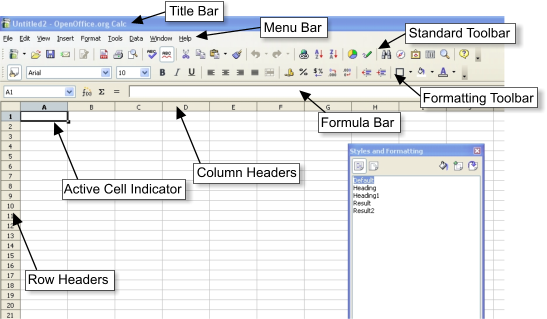 Introducing And Using Functions In A Spreadsheet