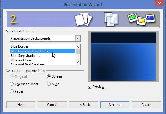 fine open office presentation template crest example