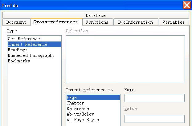creating cross references in documents apache openoffice wiki