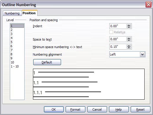 Defining a hierarchy of headings - Apache OpenOffice Wiki