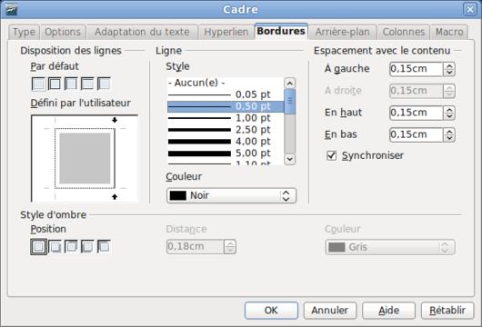 Mise en page paysage sur openoffice - Comment faire une pagination sur open office ...