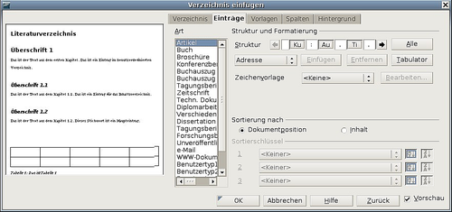 Ein Literaturverzeichnis Erstellen Apache Openoffice Wiki