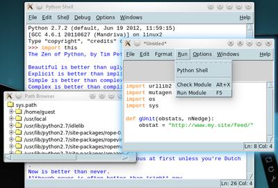 PyUNO Project: UNO IDLE - Apache OpenOffice Wiki