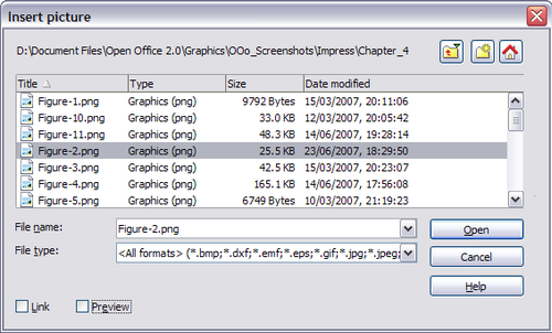 Insertion D Images Apache Openoffice Wiki