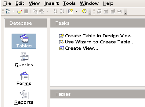 Creating Database Tables Apache Openoffice Wiki