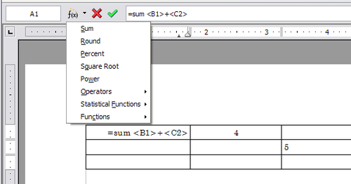 Data Entry And Manipulation In Tables Draft Apache Openoffice Wiki