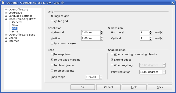 Snap to grid - Apache OpenOffice Wiki