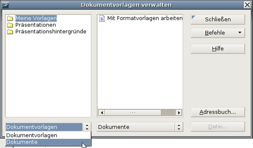 Kopieren und Verschieben von Formatvorlagen - Apache OpenOffice Wiki