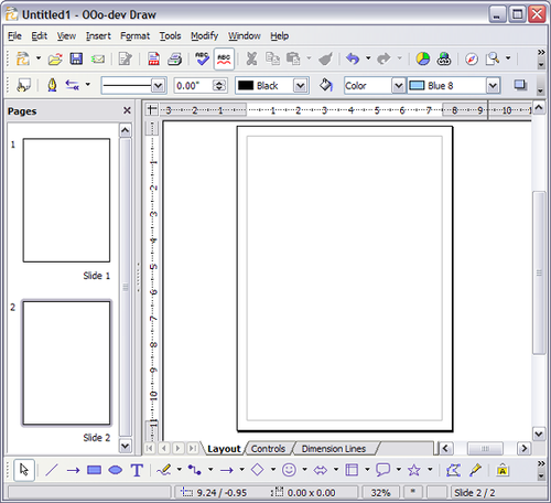 The Draw Workplace Apache Openoffice Wiki