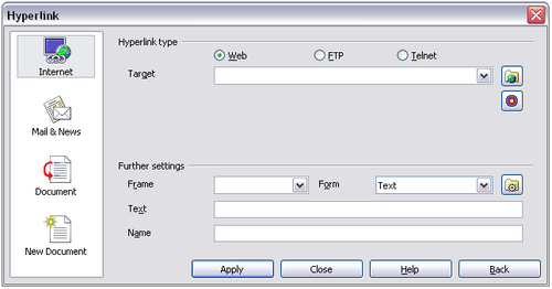 Hyperlinks and URLs - Apache OpenOffice Wiki