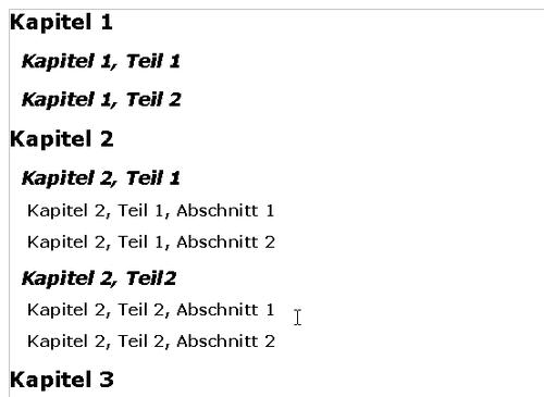 Ein Inhaltsverzeichnis Erstellen Apache Openoffice Wiki