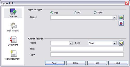 Working with hyperlinks - Apache OpenOffice Wiki