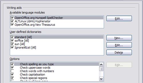 Choosing language settings - Apache OpenOffice Wiki