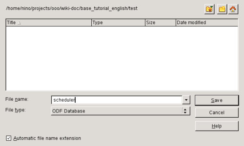 how to make an openoffice file doc
