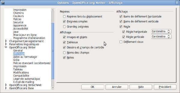 Interface De Writer Apache Openoffice Wiki