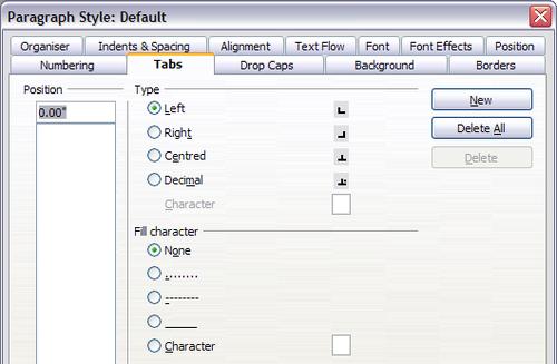 Travail avec les styles de paragraphe apache openoffice wiki - Numerotation des pages sur open office ...