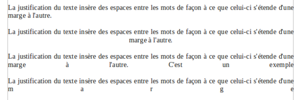 Formatage Des Paragraphes Apache Openoffice Wiki
