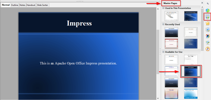 open office presentation templates