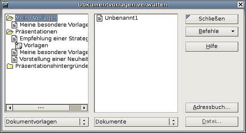 Eine Dokumentvorlage Bearbeiten Apache Openoffice Wiki