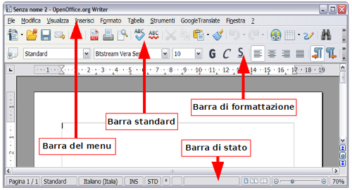 how to edit magins in open office
